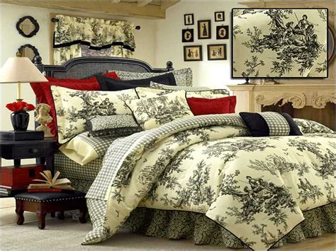 king size black and white comforter black and white toile bedding king size home design