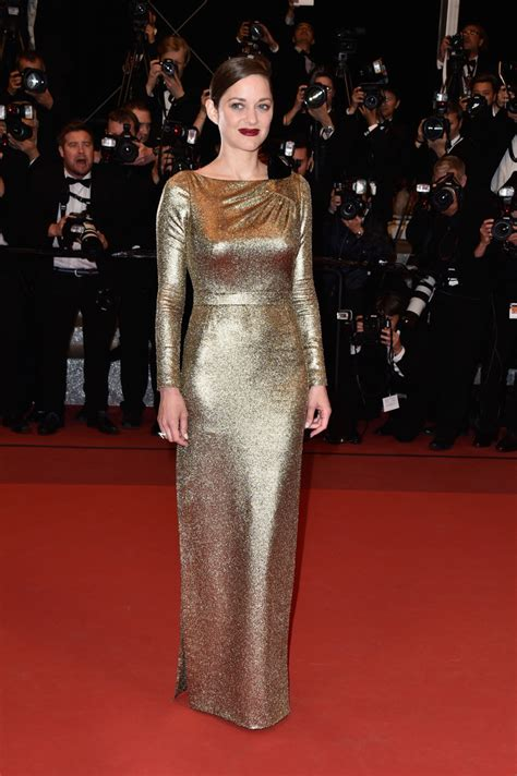Marion Cotillards Oscar Dress From Runway To Carpet by Marion Cotillard Evening Dress Fashion Lookbook