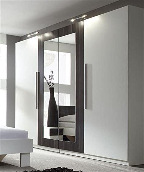 kleiderschrank 4 türig spiegel moderne schlafzimmer schr 228 nke