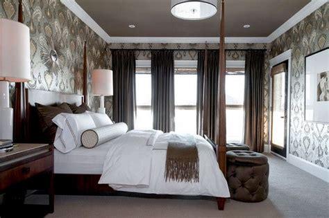 коричневые шторы великолепный интерьер обеспечен 55 фото
