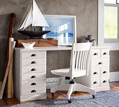 pottery barn printer s desk printer s rectangular desk set pottery barn