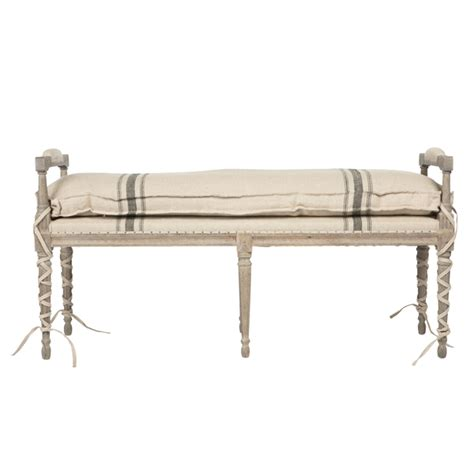 aidan gray bench striped andrew bench by aidan gray
