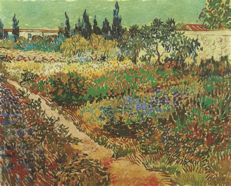 vincent van gogh 1853 1890 blooming garden with footpath arles 171 vincent van gogh 1853 1890 171 artists 171 art might just art