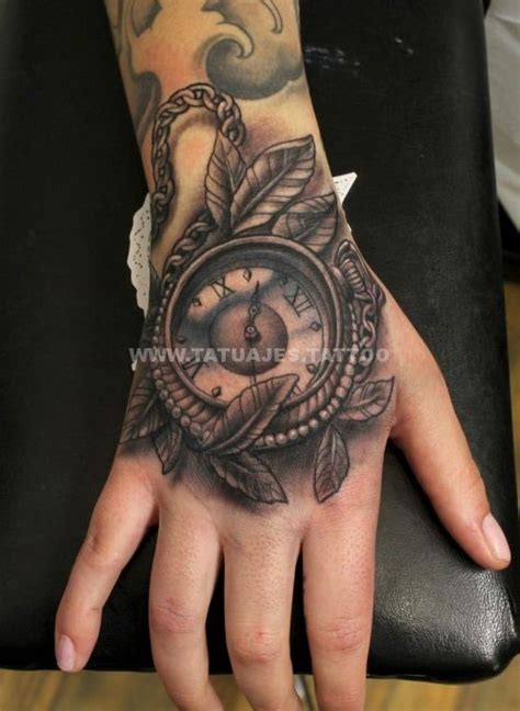 tatuaje de reloj en la mano mi blog