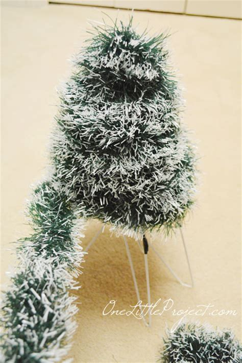 how to make a wire hanger christmas tree diy wire hanger tree tutorial