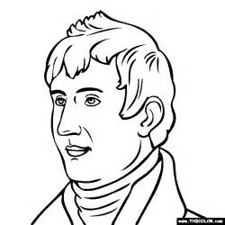 meriwether lewis coloring page sketch template