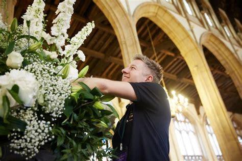 urban design flower hall green florist tells how he brought michelle keegan to