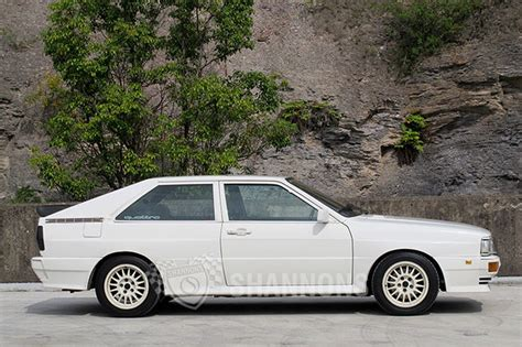 Audi Quattro Turbo by Audi Ur Quattro Turbo Coupe Auctions Lot 8 Shannons
