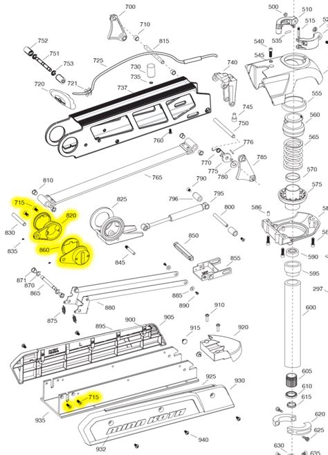 minn kota 565 trolling motor parts minn kota 565 trolling motor parts diagram minn kota