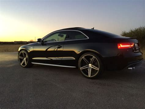audi a5 custom audi a5 s5 with custom wheels real pictures only