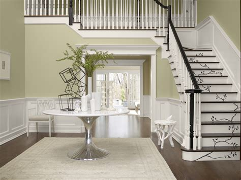 foyer paint colors sherwin williams sherwin williams gray mirage barely hints at green ok