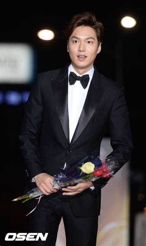 min ho new year gala photos min ho wins best new actor award at 52nd