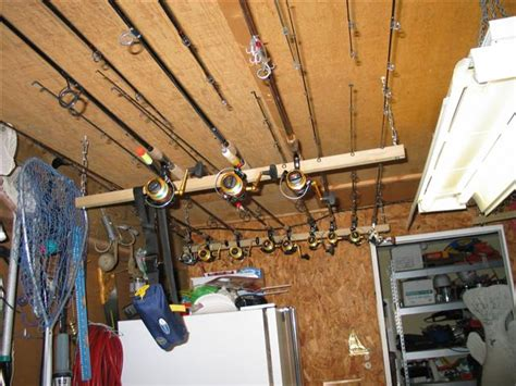 ceiling mount fishing rod holders post your ceiling mounted rod holders the hull
