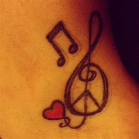 love and peace tattoo designs my ankle peace tattoos piercings