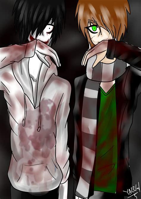 anime wallpaper yunying liu jeff the killer and homicidal liu by yazzlml on deviantart