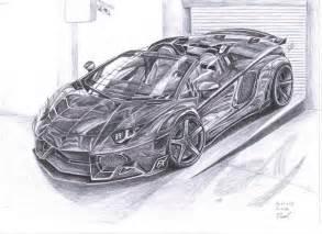 Lamborghini Aventador Drawing How To Draw Lambo Aventador