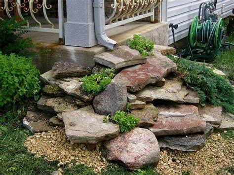 rock garden landscape ideas 25 best border plants ideas on driveway