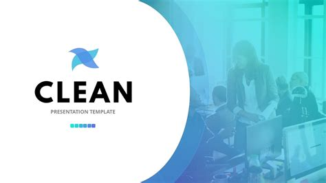 Clean Powerpoint Template Free Presentation Ppt Theme Clean Powerpoint Template
