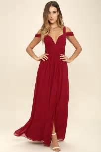 elegant wine red dress maxi dress cocktail dress