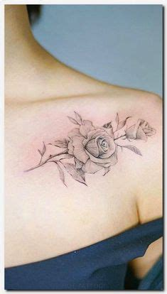 rose vein tattoo 30 shoulder tattoos for with style floral