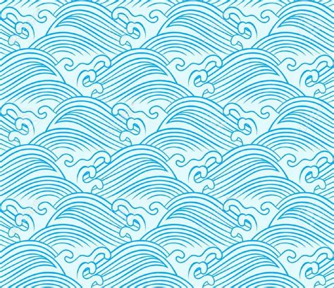 japanese pattern facts japanese wave pattern stencil