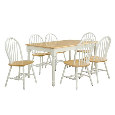 windsor dining room chairs white and natural windsor chairs dining room kitchen home