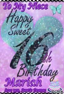 My Sweet 16 Lamborghini To My Niece Happy Sweet 16th Birthday Picmix