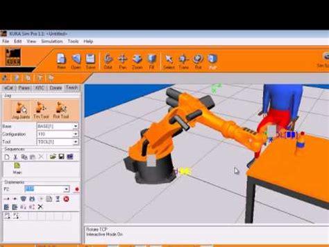kuka sim layout free download kuka sim pro tutorial youtube
