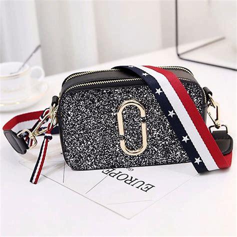 Sepatu Sport Glitter jual b1128b black tas selempang sling bag glitter kilat