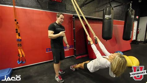 recline rows rope exercises recline rope row youtube
