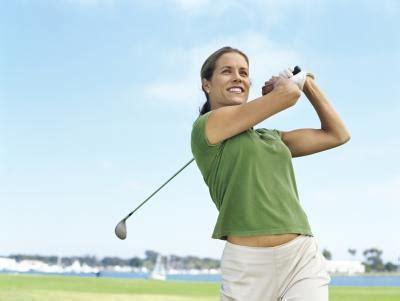 women golf swing golfer s elbow stretching exercises live well jillian