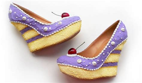 Wedges Spons Cakep shoe bakery and cake shoes are the yummiest