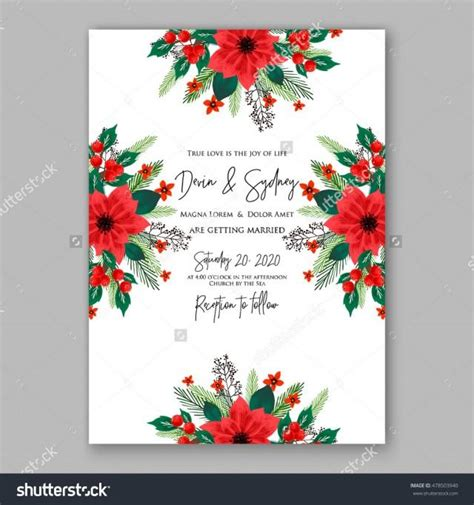 Wedding Card Sle by Top 28 Ornament Wreath Invitation Template