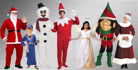 christmas themes for groups santa claus costumes buycostumes com