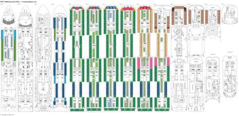 msc opera cabin layout msc bellissima deck 5 deck plan tour