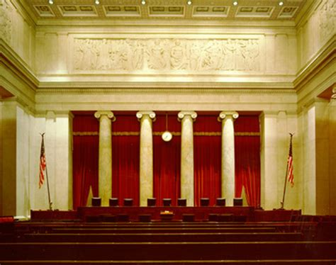 Supreme Court Room by America Acknowledges God