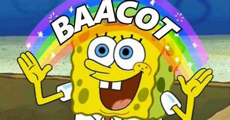 mentahan meme spongebob lucu bacot  polosan gambar