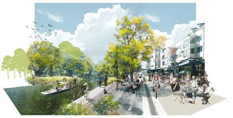 Landscape Architecture Perspective Rising From The Ashes Architects Reveal Stunning Designs
