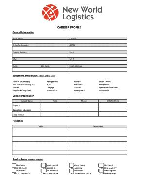 Logistics Service Agreement Template Edit Fill Print Download Best Online Forms In Word Broker Carrier Agreement Template