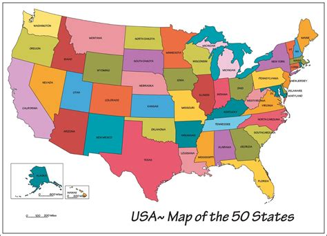 50 states usa map grade knows about the fifty states thinglink