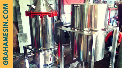 Mesin Destilasi Minyak mesin destilasi minyak sistem kukus graha mesin