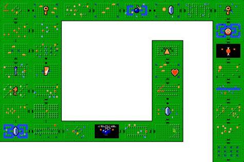 legend of zelda map level 8 the legend of zelda underworld quest 2 dungeon 8
