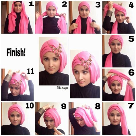 video tutorial hijab wisuda modern beautiful modern hijab styles tutorial for 2015 hijabiworld