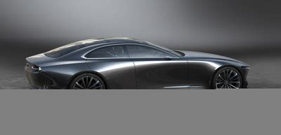 mazda canada inc mazda unveils concept and vision coupe at motor