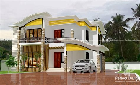 modern 4 bedroom house 4 bedroom beautiful contemporary home plan everyone will 435 | 4 BHK Beautiful Contemporary Home like1