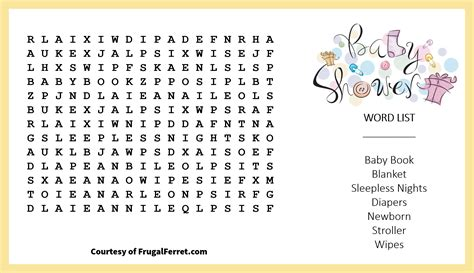 Baby Shower Crossword by Pleasurable Design Ideas Baby Shower Crossword Free