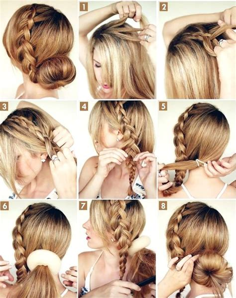 hair style step by step pic how to make hairstyles for party step by step www