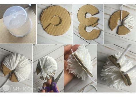 How Do You Make Paper Pom Poms - different methods of pom poms