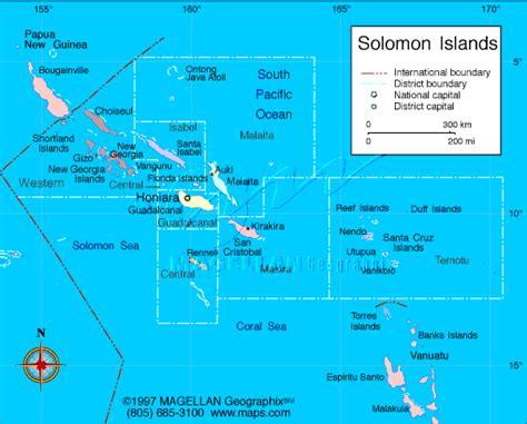 solomon islands map free solomon islands maps