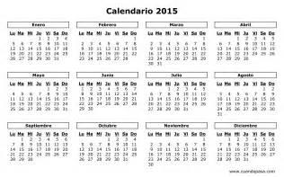 Calendario Mexico Calendario De M 233 Xico 2015